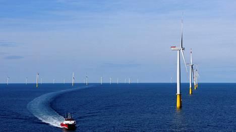 Esimerkiksi tuulivoimalla tuotettua energiaa voisi varastoida Teraloopiin – jos se saadaan toimimaan.