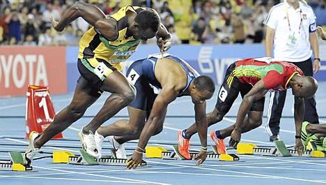 Usain Bolti aiheutti keskustelun lähtösäännöstä.