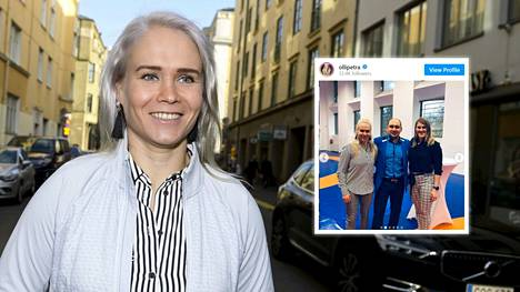 Petra Olli juhli elämäkertansa julkaisua Helsingissä lokakuun alussa. Ahto Raskaa ei pitoihin kutsuttu.