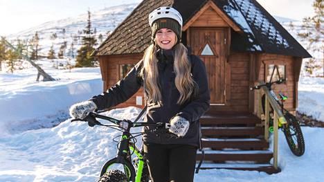 Vuoden Retkikohteeksi valitulla Ylläksellä on panostettu viime vuosina erityisesti ympärivuotisen pyöräilyn kehittämiseen.