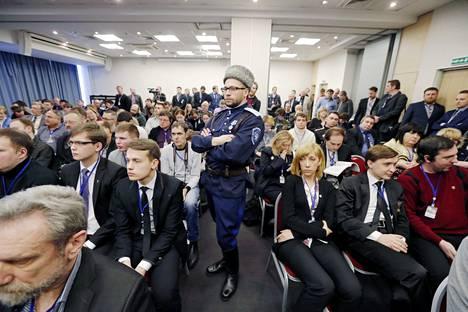 Pietariin kokoontui useiden äärioikeistopuolueiden edustajia eri puolilta Eurooppaa.