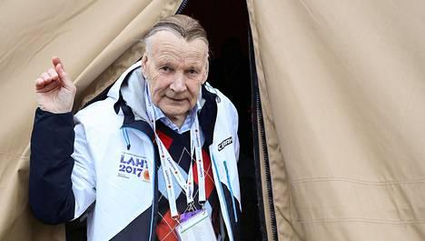 Immo Kuutsa vuonna 2017 Lahden MM-hiihdoissa.