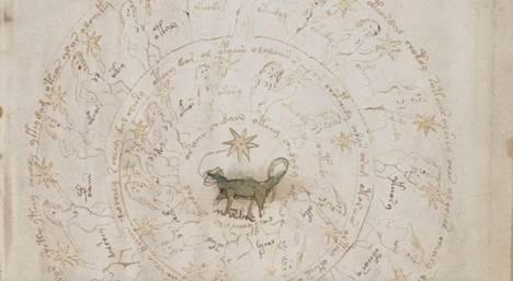 Tämän kuvion uskotaan liittyvän horoskooppeihin.