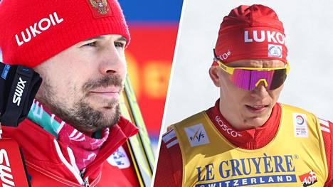 Sergei Ustjugovin (vas.) ja Aleksandr Bolshunovin välit ovat vähintään viileät.