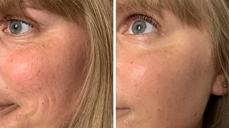 Meikitön look syntyy kevyellä värivoiteella, joka ehostaa ihoa huomaamattoman kauniisti.