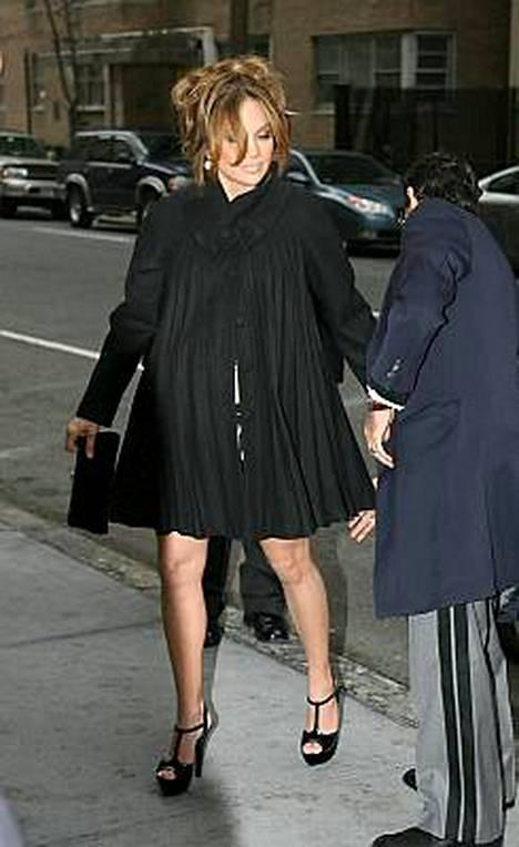 Jennifer Lopez on megaraskaana, kuten tuoreista kuvista voi nähdä.