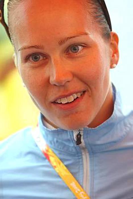 Jenni Mikkonen mietteissä siintää jo Lontoon olympialaiset.