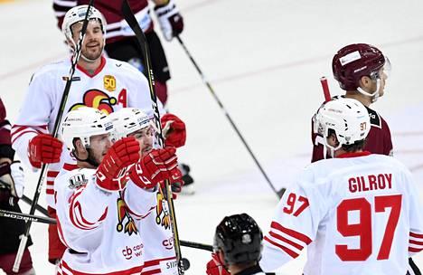 Viime ottelussaan Jokerit voitti Riian Dinamon. Tänään Jokerit johtaa vastuksen suoraan KHL:n huipulta, Moskovan TsSKA:n.