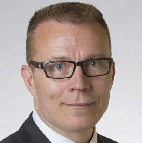 Kokoomuksen kansanedustaja Jukka Kopra