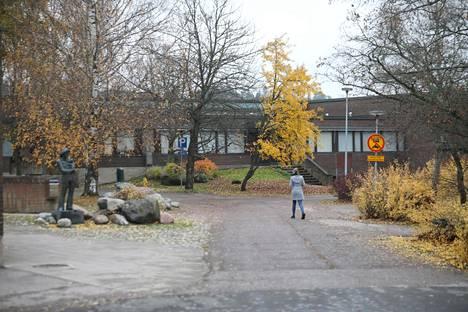 Laurean ammattikorkeakoulun Espoon Leppävaaran kampusaluetta.