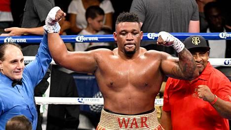 Miller on ollut syytösten keskellä ennenkin. Kuva voitokkaasta matsista Gerald Washingtonia vastaan heinäkuulta 2017.