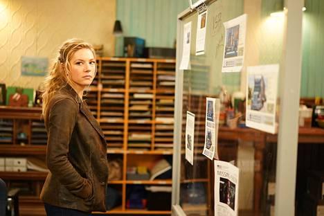 Jennyä näyttelevä Katheryn Winnick teki läpimurtonsa historiallisen Vikings-draamasarjan soturiprinsessa Lagerthana.