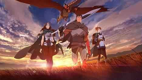 Sankareita, lohikäärmeitä, demoneja ja jumalia – näitä kaikkia voi odottaa Dota 2:n animesarjalta, joka julkaistaan maaliskuun lopulla Netflixissä.