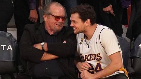 Jack Nicholsonin poikaa Raytä verrataan Leonardo DiCaprioon.