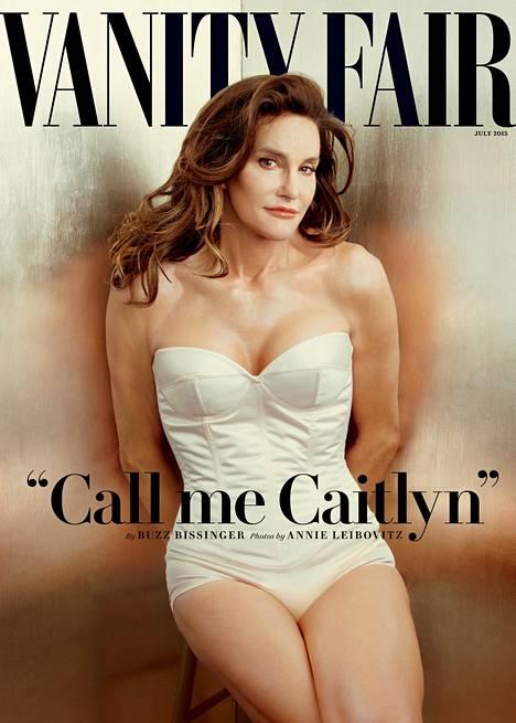 Caitlyn Jenner poseerasi Vanity Fairin kannessa.