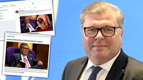 """Suomalaisen urheilujohtajan ja miljonäärin kuvaa käytetään hyväksi röyhkeässä somehuijauksessa – """"Törkeää!"""""""