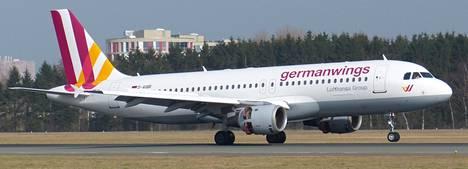 Germanwingsin Airbus A320 -kone.