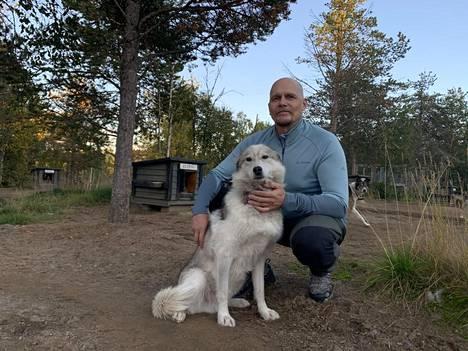 Huskyja Pasi Ikosen Hetta Huskiesilla on hieman alle 240. Luku on pienentynyt hieman viime talvesta.
