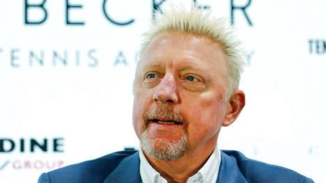 Boris Becker voitti tennisurallaan muun muassa kuusi Grand Slam -titteliä kaksinpelissä.