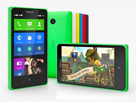 Ensimmäinen Nokia X -malliston puhelin tulee myyntiin välittömästi kasvavilla markkinoilla. Kalliimmat uutuudet ilmestyvät seuraavalla kvartaalilla.