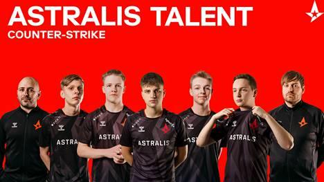 Astralis esitteli akatemiajoukkueensa joulukuussa 2020.