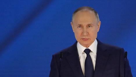 Venäjän presidentti Vladimir Putin. Arkistokuva.