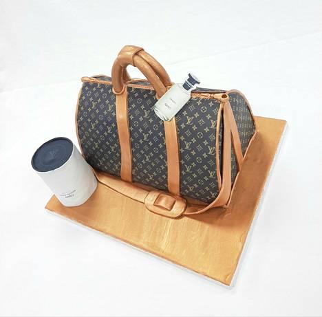Louis Vuitton -laukkukakku.