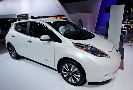 Nissan Leaf vuodelta 2016.