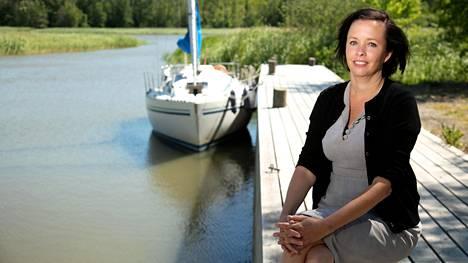 Emilie Gardberg löysi unelmiensa talon Salosta – paratiisi meren rannalla