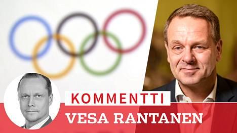 Jan Vapaavuori on aloittanut Olympiakomiteassa tehokkaana.