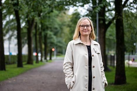 Hannele Korhonen kehuu tutkimusryhmäänsä loistavaksi.