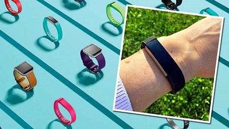 Hyvinvointiranneke Fitbit Alta mittaa aktiivisuutta, unta ja liikuntaa sekä muistuttaa ja kannustaa liikkumaan.