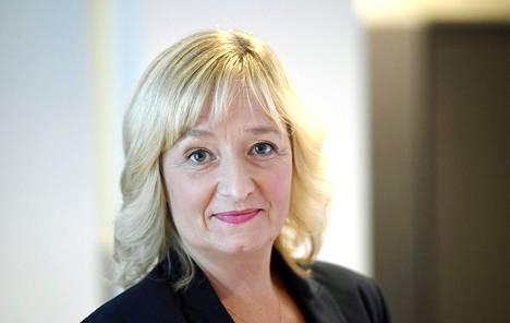 Suojellaan lapsia -järjestön toiminnanjohtaja ja erityisasiantuntija Nina Vaaranen-Valkonen.