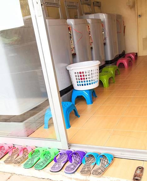 Pesuohjelmissa riittää valinnanvaraa eri tilanteisiin ja eri tekstiileille.