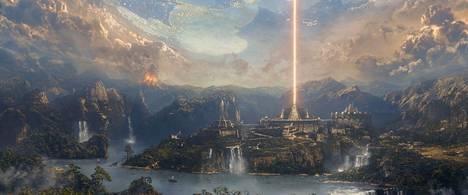Iron Sky The Coming Race -seikkailu sijoittuu Maapallon onttoon sisimpään. Elokuvan erikoistehosteet tehtiin Saksassa.