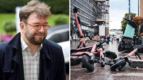 Harakka kertoo saaneensa Helsingissä yleistyneistä menopeleistä roppakaupalla palautetta.