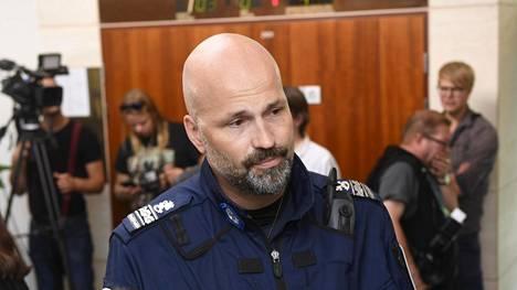 Ylikomisario Jussi Huhtela.