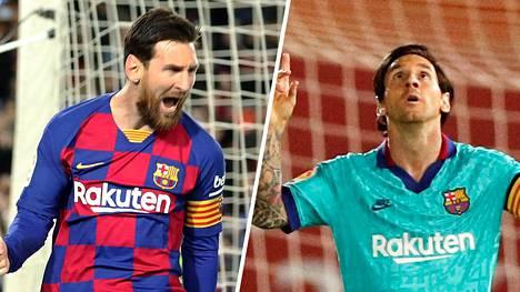 Parralla tai ilman. Messi tekee maaleja.