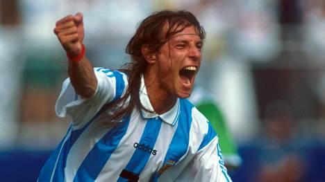 Claudio Caniggia pelasi Argentiinan paidassa 50 A-maaottelua ja viimeisteli niissä 16 maalia.