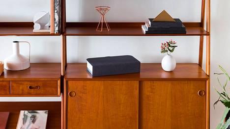 Etsi tästä kuvasta printteri. Vihje: HP on piilottanut uuden Tango-kotitulostimensa kangaskuoriin.