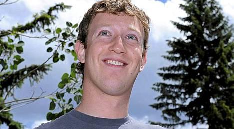 Mark Zuckerberg, mies Facebookin takana.