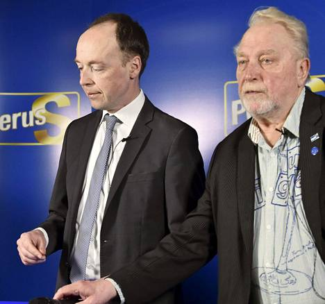 Jussi Halla-aho ja Matti Putkonen.