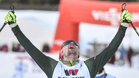 Fabian Riessle voitti Klingenthalin sunnuntain kisan.