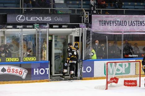 Jesse Puljujärvi sai suihkukomennuksen.