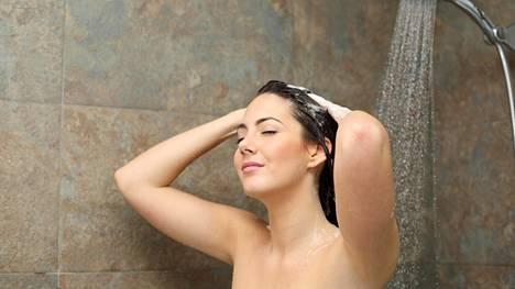 Saippua voi kuivattaa monien ihoa. Kuvituskuva.