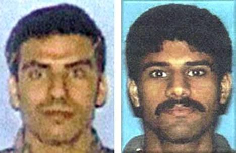 Khalid al-Mihdhar ja Nawaf al-Hazmi olivat mukana kaappaamassa Pentagoniin osunutta konetta. Heidän yhteyksiään Yhdysvalloissa käsitellään salatuissa papereissa.