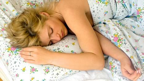 Hyvä uni on tärkeää palautumisenkin kannalta.