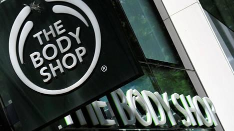 The Body Shopin kyltti Wienissä, Itävallassa.