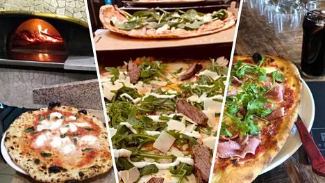 Nam, mitä pizzoja! Listasimme ravintolat, joista lukijat vinkkasivat.