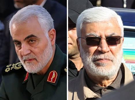 Qassem Suleimani ja Abu Mahdi al-Muhandis saivat surmansa iskussa.
